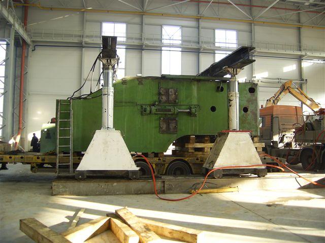 Погрузка и разгрузка промышленного оборудования